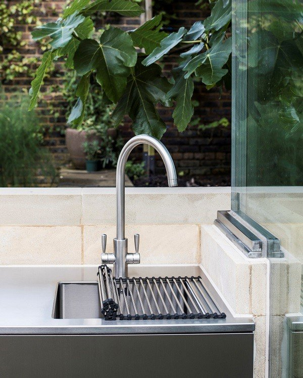GEC Anderson Stainless Steel Sink and worktop