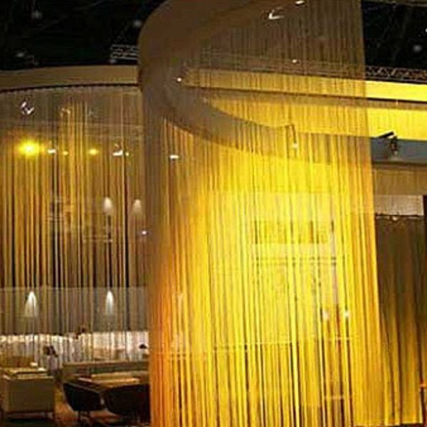 House Couturier Custom Flame Proof Fringe Curtain