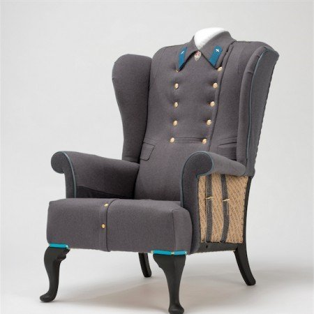 house couturier commander chair