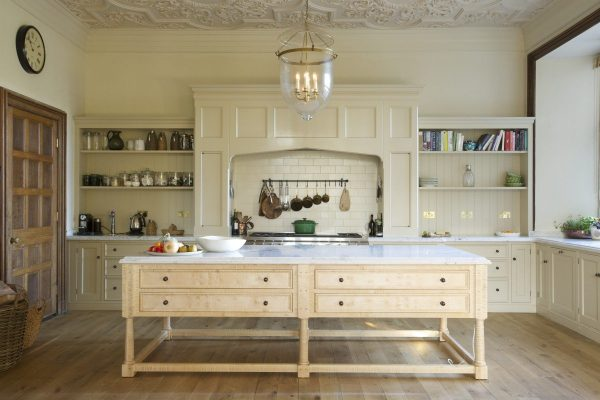 Jacobean Manor House Kitchen by Guild Anderson