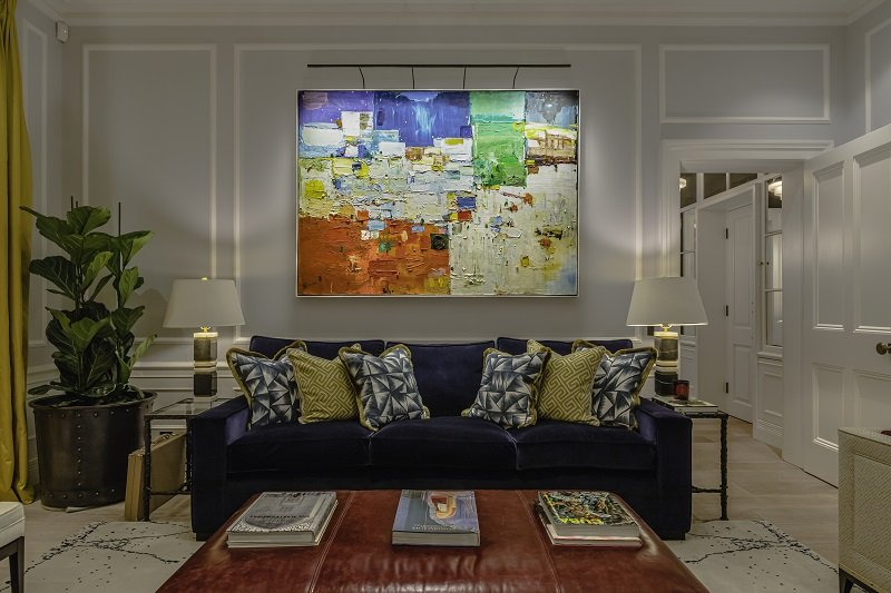 how-to-light-art-Private-Residence-London-by-Barlow-and-Barlow