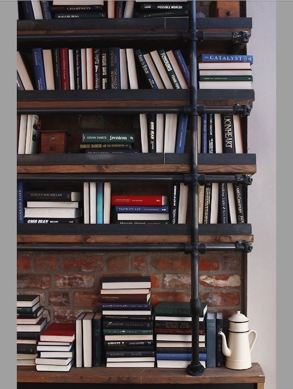 Ultimate-library-K-west-shepherds-bush-decorating-with-books
