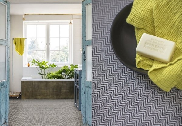 choosing carpet - kitchen and bathroom