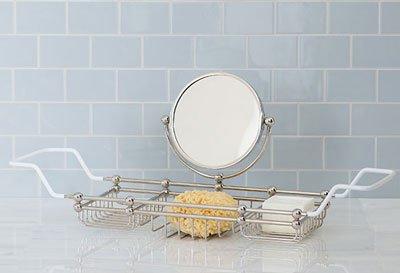 Bath tub rack from Balineum