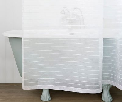 Tamsin cotton shower curtain from Balineum