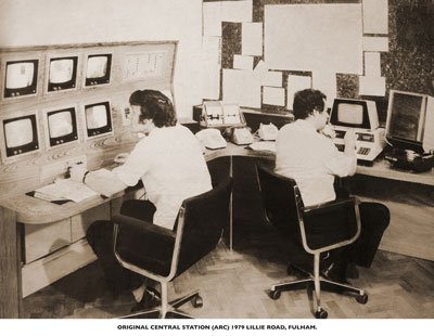 ARC monitoring Station in 1979
