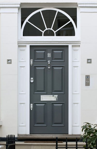 Door-with-security features, Banham