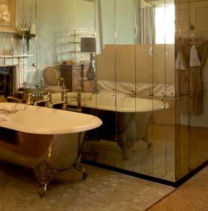 Antique mirror glass from Rupert Bevan