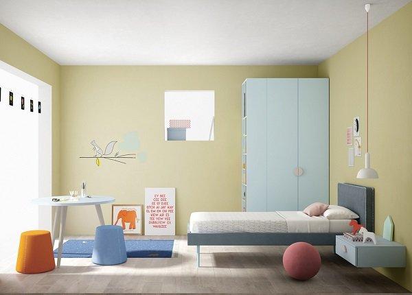 Modern children's furniture compilation by Battistella