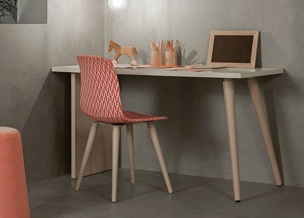 Desk and chair, children's furniture by Battistella