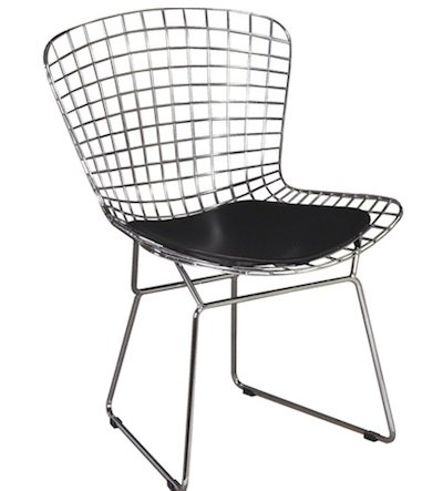 Wire chair from Beautiful Modern Thing