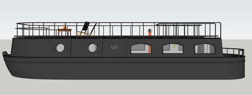 Bert & May barge