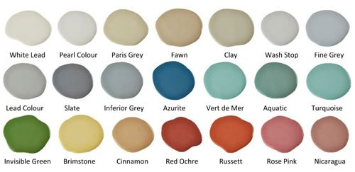 New natural paint colours by Edward Bulmer Pots of Paint