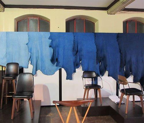 Sukumo Leather & Stellar Works at Clerkenwell Design Week
