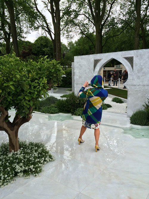 Beauty of Islam garden, Chelsea Flower Show