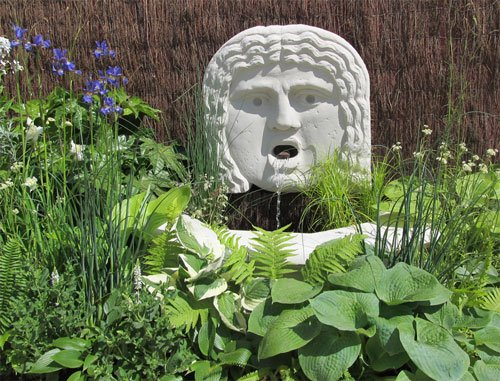 Chelsea Flower Show -Haddonstone Soane Museum collection
