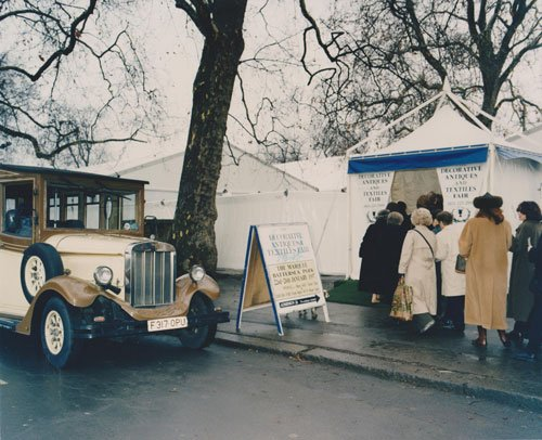 Decorative Fair, first fair in Battersea