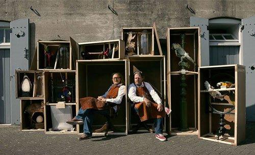 Portrait of Van Tongeren and Sinke