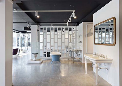 Drummonds bathroom showroom, King's Road