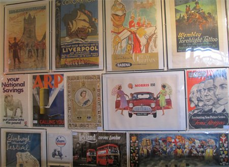 vintage posters from Antikbar