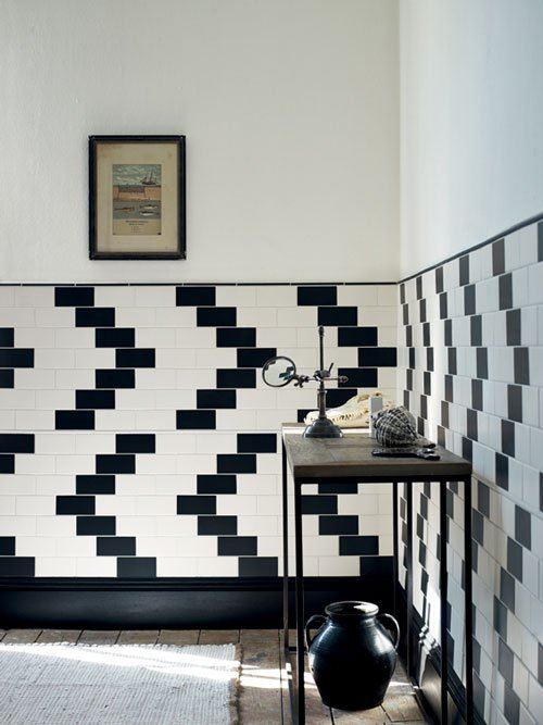 Suede tiles by Fired Earth