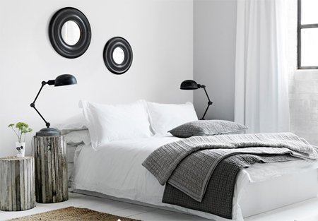 bedlinen and throws from French Connection