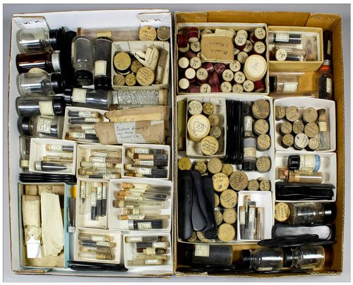 mineral grains, Gregory, Bottley & Lloyd auction
