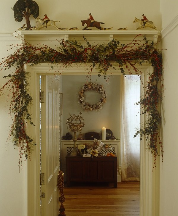 Greenery - - Christmas decorating tips