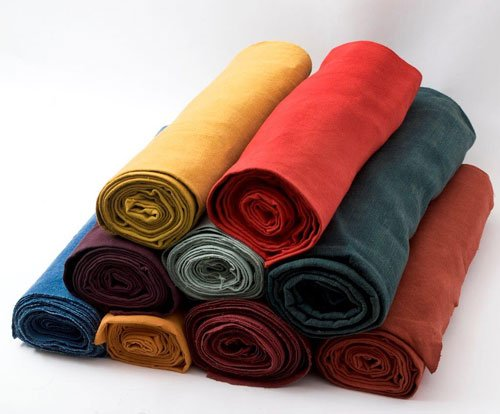 Vegetable Dyed Fabrics at Guinevere