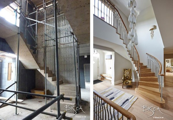 Harrogate staircase project by Bisca