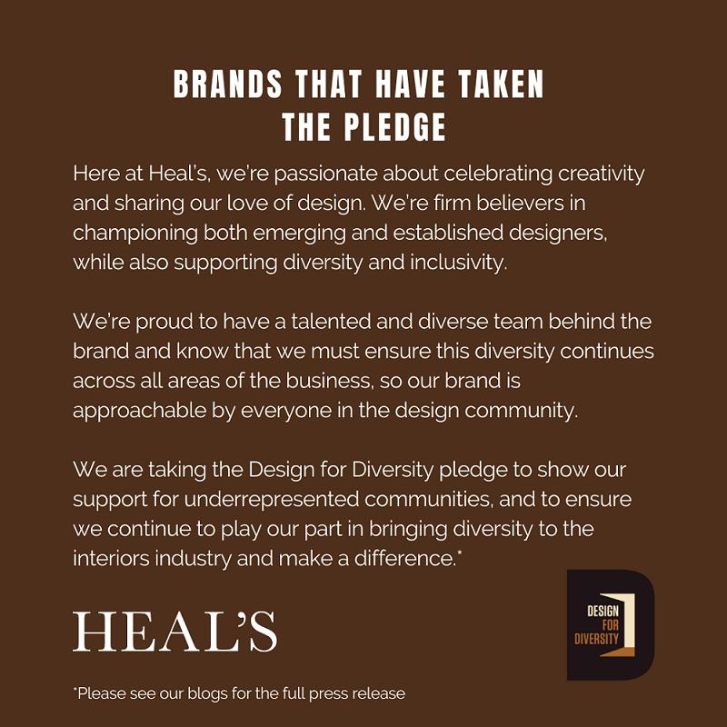 Design for Diversity - Heal's Statement