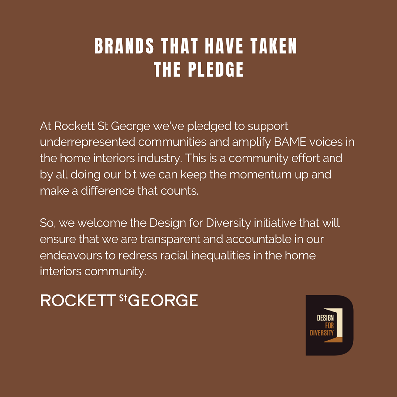 Design for Diversity - Rockett St George Statement
