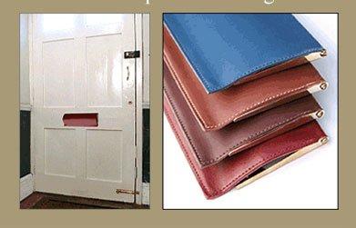leather flap colours