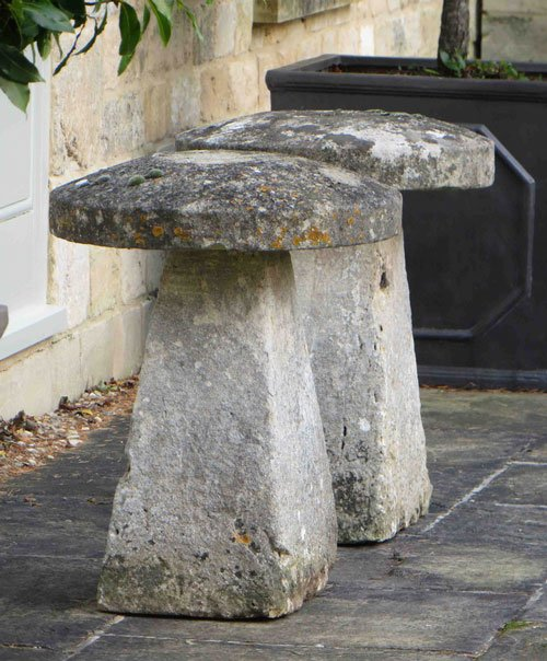 Staddlestones from Lichen Garden Antiques