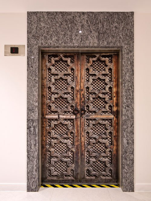 Moroccan door lift sticker by Wallpapered