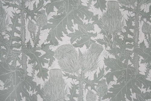 Thistle fabric by Marthe Armitage