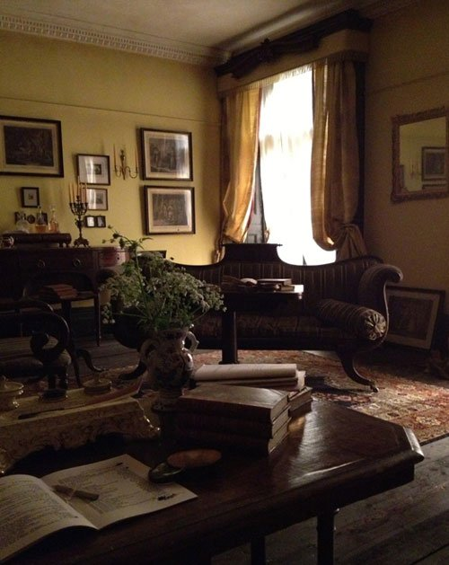 Mr Turner -drawing room at Queen Anne Street