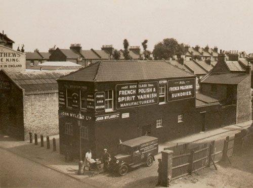 Mylands paint factory 1920