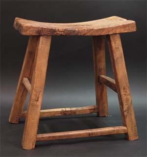 antique stool from Indigo