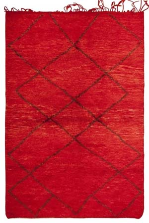 Moroccan rug from Nazmyal