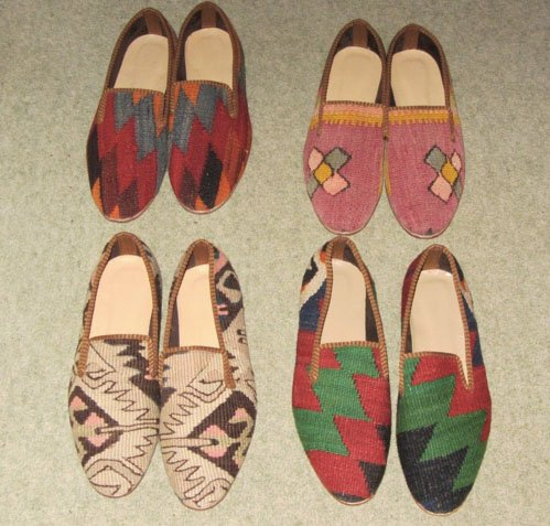 Tapestry slippers from Nomad Ideas