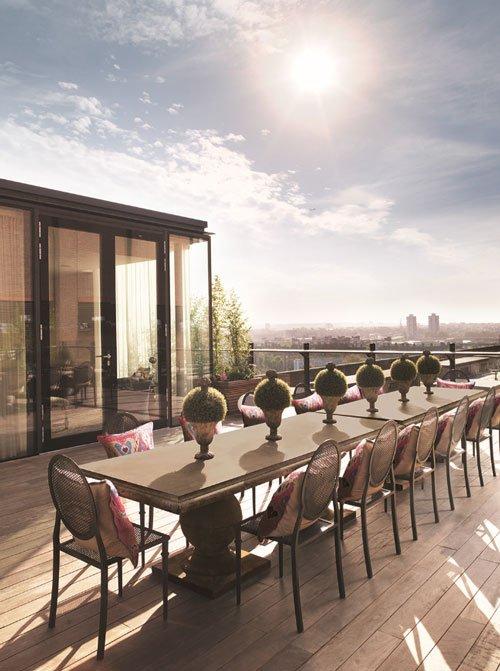 OKA Battersea Power Station apartment, terrace