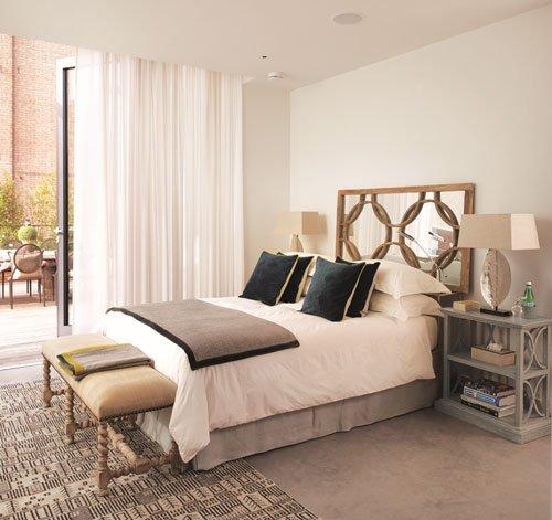 OKA Battersea Power Station apartment, bedroom