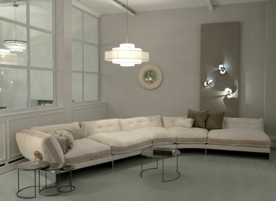 Ochre's Eternal Dreamer sofa
