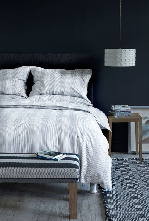 Troy bedlinen in Soft Grey from Roger Oates