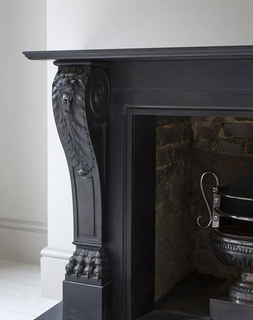 Louis XV1 marble fireplace from Renaissance London