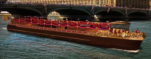 Royal Barge by Westminster