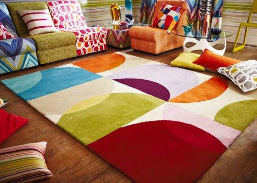 Kaleido Pop rug from Scion