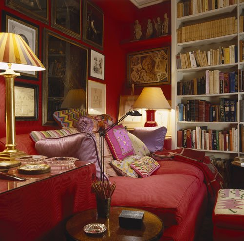 John Stefanidis' London home