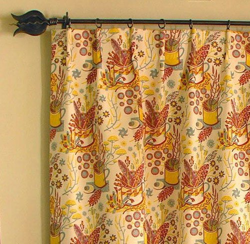 cartridge pleat curtains by Tinsmiths